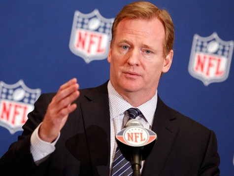 Roger Goodell, in charge of discipline for the Deflategate scandal