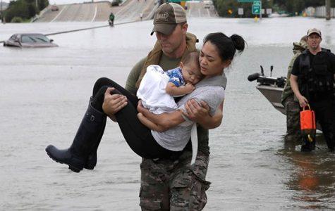Hurricane Harvey Fundraiser by National Honor Society
