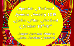 Spanish National Honors Society 2018 Film Festival