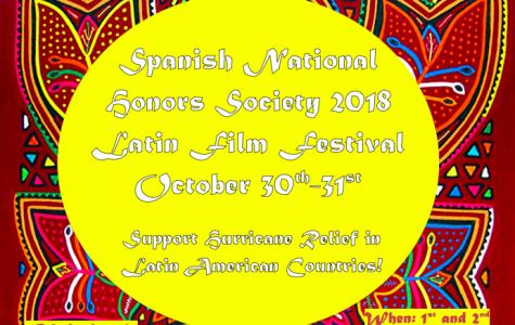 Spanish National Honors Society 2018 Film Festival