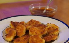 Sweet and Spicy Chicken Nuggets